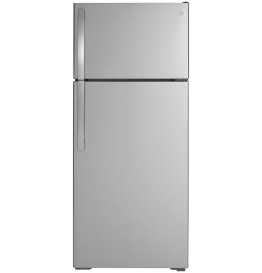 GE® ENERGY STAR® 17.5 Cu. Ft. Top-Freezer Refrigerator - Canales Furniture