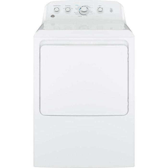 GE® 7.2 cu. ft. Capacity aluminized alloy drum Electric Dryer - Canales Furniture