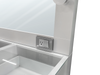 Misty White Vanity Set - Canales Furniture