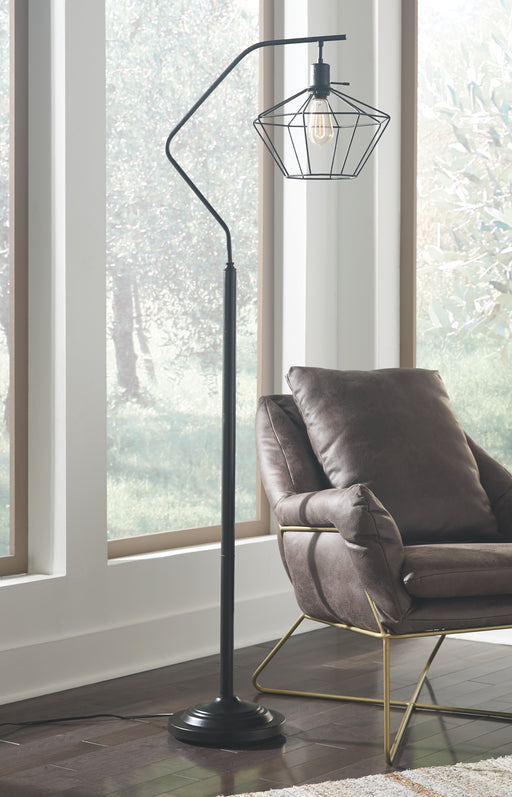 Makeika Signature Design by Ashley Floor Lamp - Canales Furniture