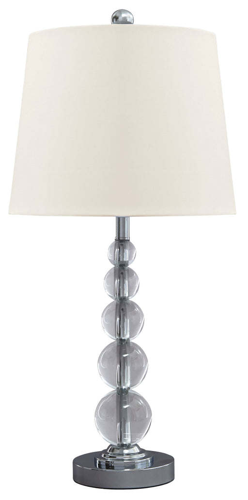 Joaquin Crystal Table Lamp - Canales Furniture