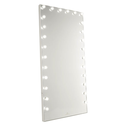 Hollywood Glow FL Pro Vanity Floor Mirror - Canales Furniture