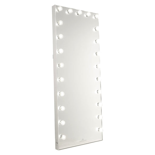 Hollywood Glow FL Vanity Floor Mirror - Canales Furniture
