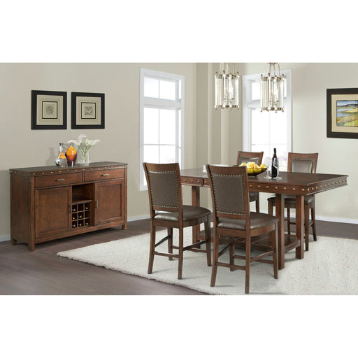 Prescott Counter Height Dining Room Set - Canales Furniture