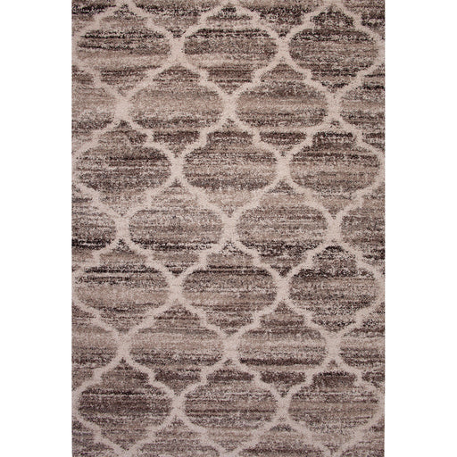 "Gresford Brown 5'3"" X 7'6"" Area Rug - Canales Furniture"