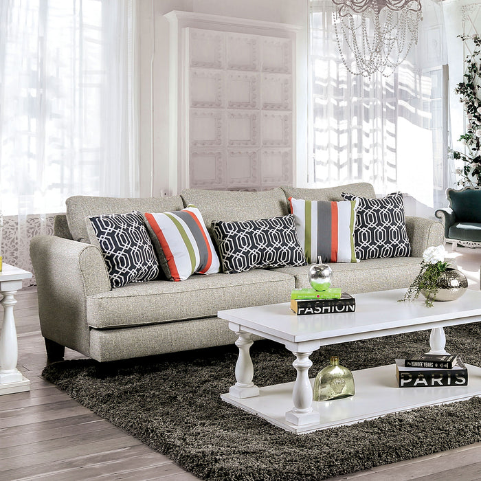 Denbigh Gray Sofa - Canales Furniture