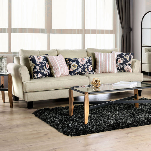 Denbigh Beige Sofa - Canales Furniture