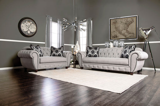 VIVIANA Gray Sofa + Love Seat - Canales Furniture