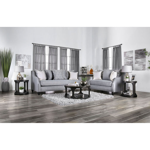 Nefyn Gray Sofa + Love Seat - Canales Furniture