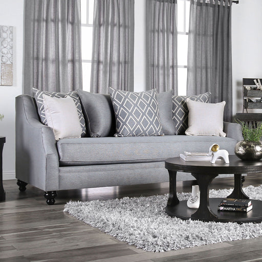 Nefyn Gray Sofa - Canales Furniture