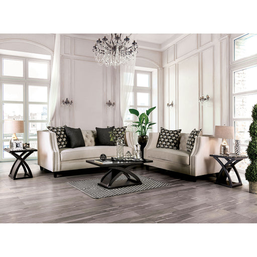 Aniyah Beige Sofa + Love Seat - Canales Furniture