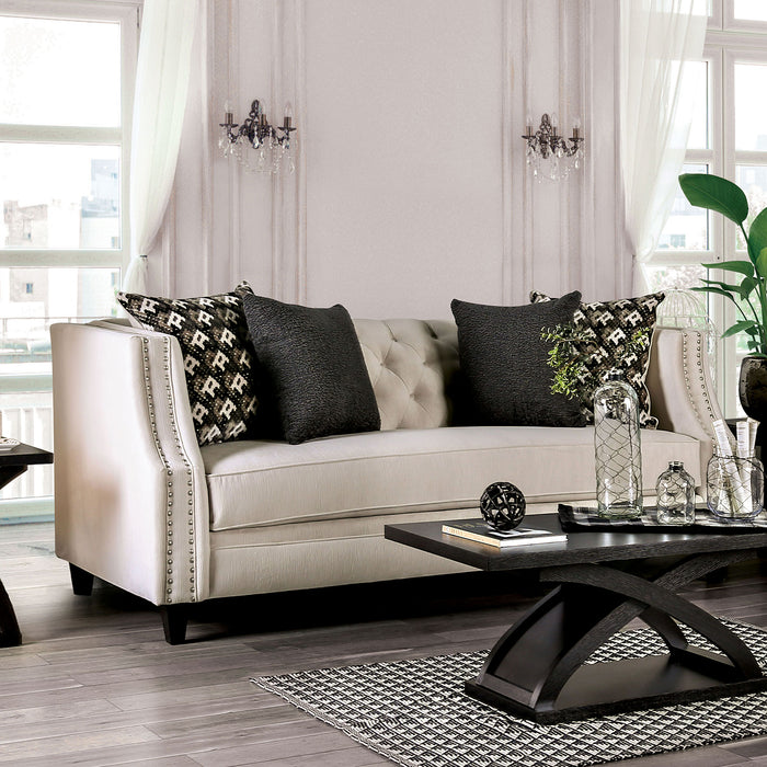 Aniyah Beige Sofa - Canales Furniture