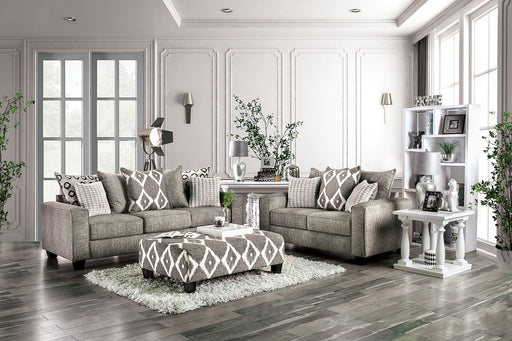Basie Gray Sofa + Love Seat - Canales Furniture