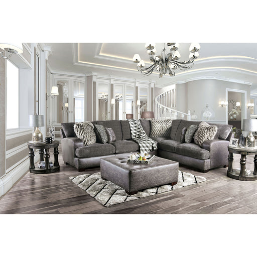 Gellhorn Gray Sectional - Canales Furniture