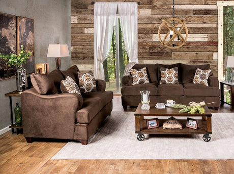WESSINGTON Chocolate Sofa + Love Seat - Canales Furniture