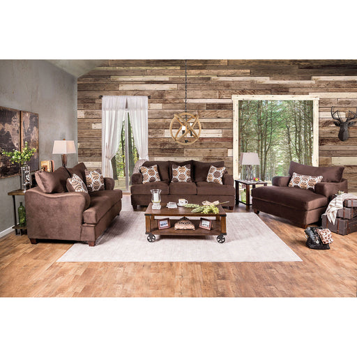 WESSINGTON Chocolate Sofa - Canales Furniture