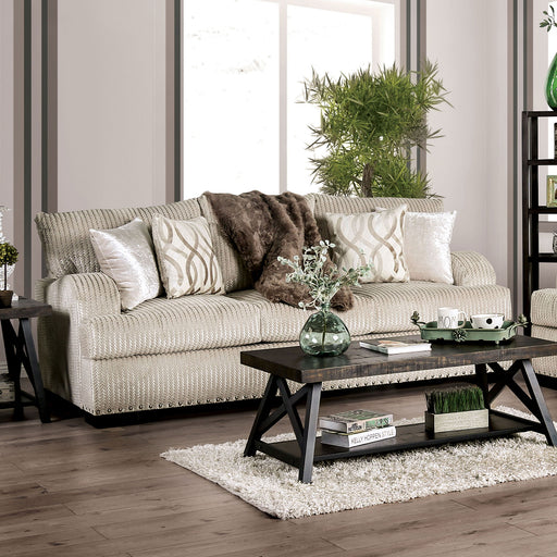 Zayla Golden Ivory Sofa - Canales Furniture