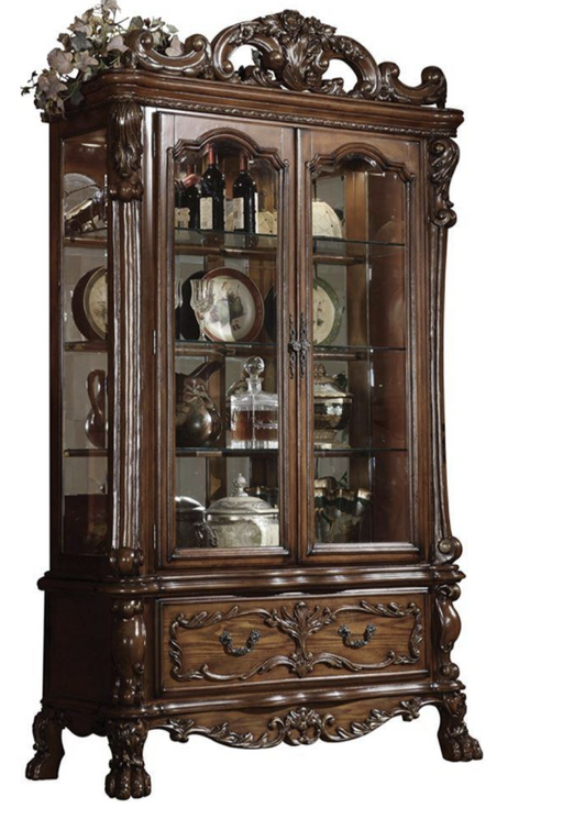 Winterberry Curio - Canales Furniture