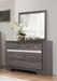 Luster Dresser and Mirror - Canales Furniture