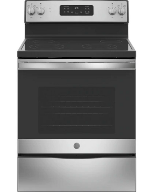 "GE® 30"" Free-Standing Electric Range - Canales Furniture"