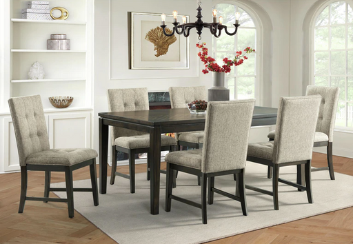 Landry 7PC Dining Room Set - Canales Furniture