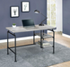 Delray 2-Tier Open Shelving Writing Desk - Canales Furniture