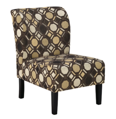 Tibbee Accent Chair Pebble - Canales Furniture