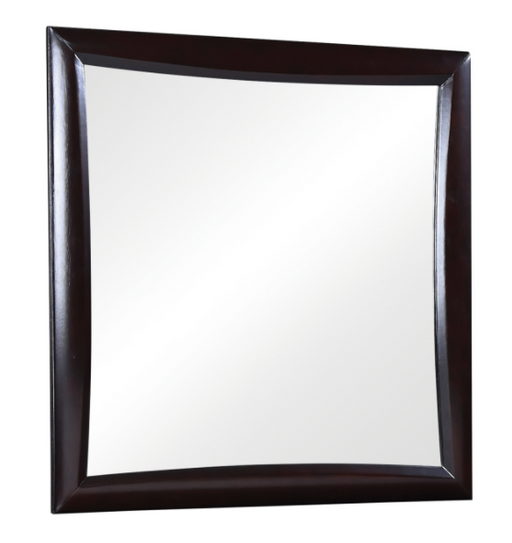 Phoenix Square Dresser Mirror Deep Cappuccino - Canales Furniture
