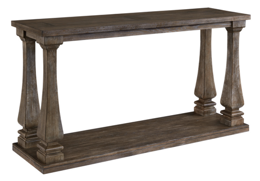 Johnelle Sofa Table Gray - Canales Furniture