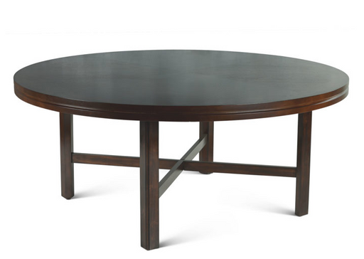 Hartford 72-inch Round Dining Table - Canales Furniture