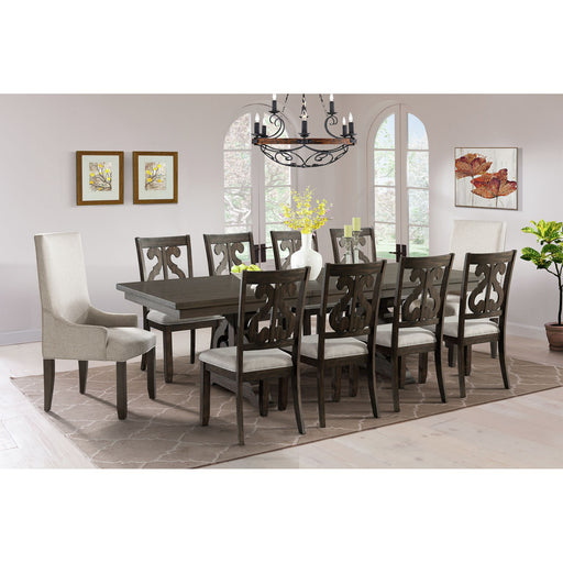 Stone Dining Room Set - Canales Furniture