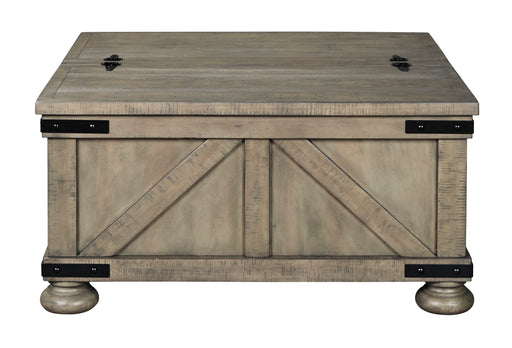 Aldwin Cocktail Table with Storage - Canales Furniture