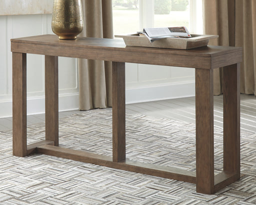 Cariton Signature Design by Ashley Sofa Table - Canales Furniture