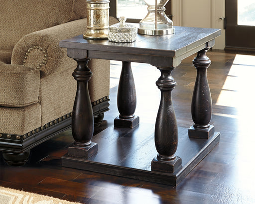 Mallacar Rectangular End Table - Canales Furniture