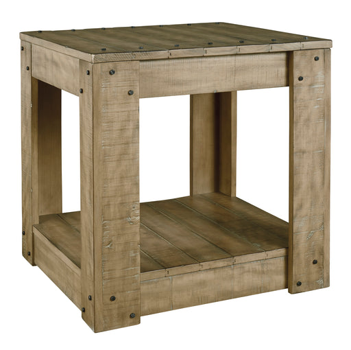 Lindalon Rectangular End Table - Canales Furniture