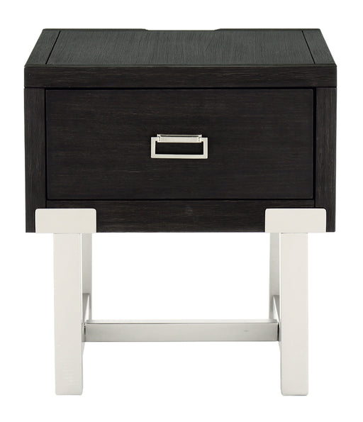 Chisago Rectangular End Table - Canales Furniture