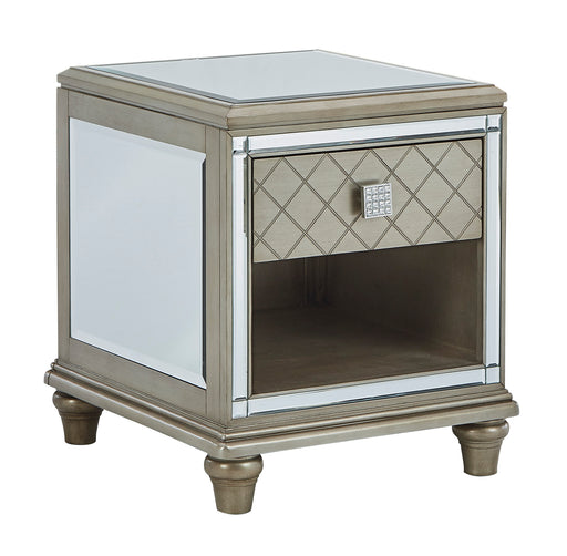 Chevanna Rectangular End Table - Canales Furniture