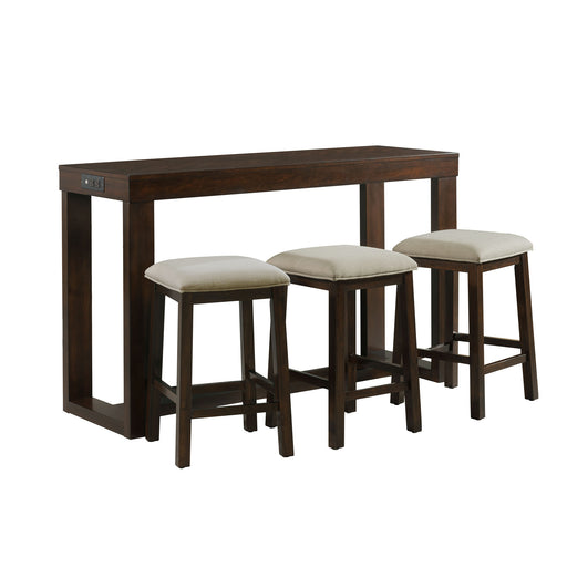 Hardy Multipurpose Bar Table Set - Canales Furniture