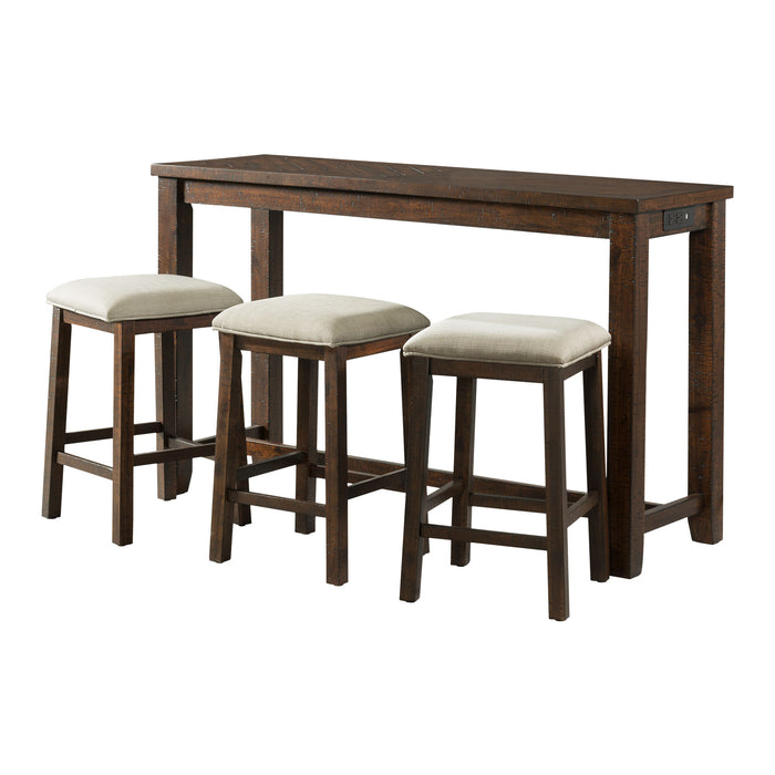 Jax Multipurpose Bar Table Set - Canales Furniture