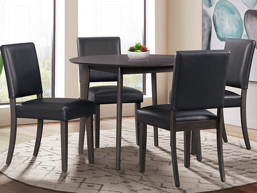 Trent Round 5PC Dining Set - Canales Furniture