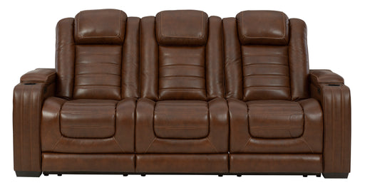 Backtrack Power Recliner Sofa Adjustable Headrest - Canales Furniture
