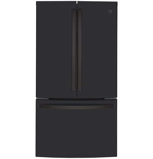 GE® ENERGY STAR® 23.1 Cu. Ft. Counter-Depth French-Door Refrigerator - Canales Furniture