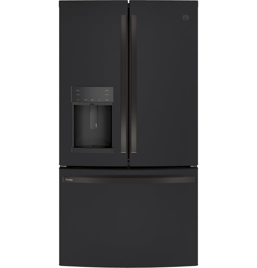 GE Series ENERGY STAR® 22.1 Cu. Ft. Counter-Depth French-Door Refrigerator with Hands-Free AutoFill - Canales Furniture
