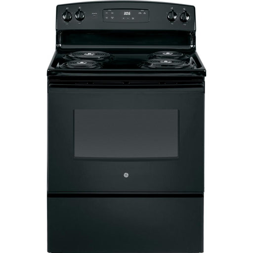 "GE® 30"" 5.0 Cu Ft. Free-Standing Electric Range - Canales Furniture"