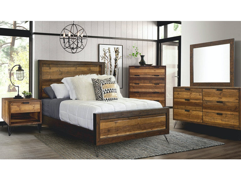Waco Bed - Canales Furniture