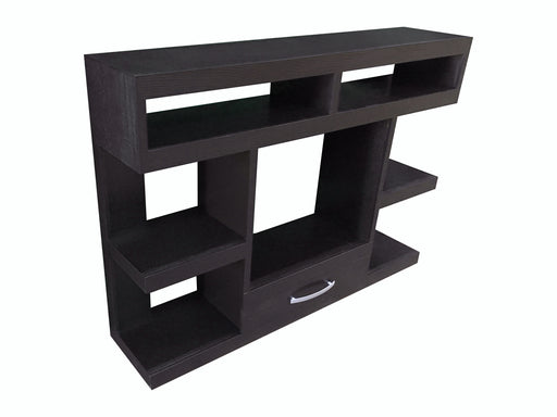 Denver TV Stand Brown - Canales Furniture