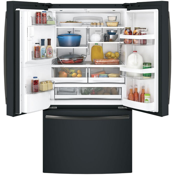 GE® ENERGY STAR® 27.8 Cu. Ft. French-Door Refrigerator - Canales Furniture