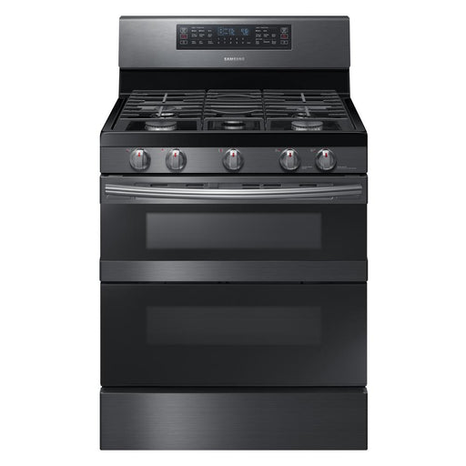5.8 cu. ft. Freestanding Gas Range with Flex Duo™ & Dual Door in Stainless Steel - Canales Furniture