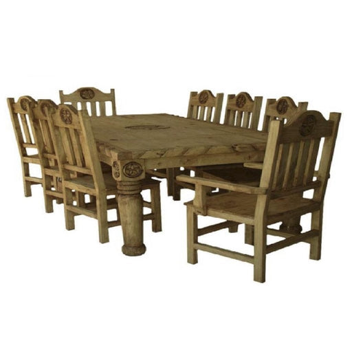 Gobernador Dining Room Set - Canales Furniture