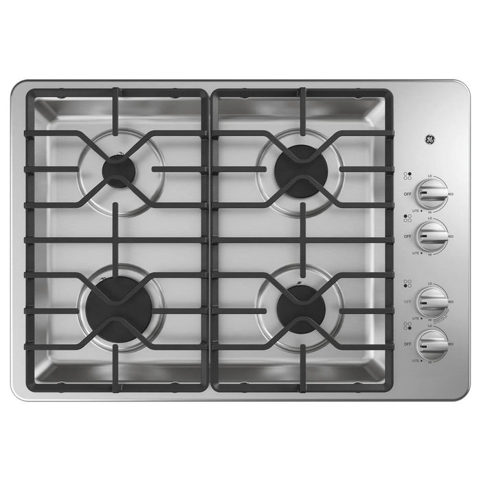"GE® 30"" Built-In Gas Cooktop - Canales Furniture"